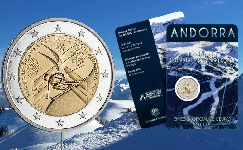2 euros Andorre 2019 Coupe du Monde de Ski