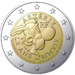 2 € Commémorative 60 ans d'Astérix