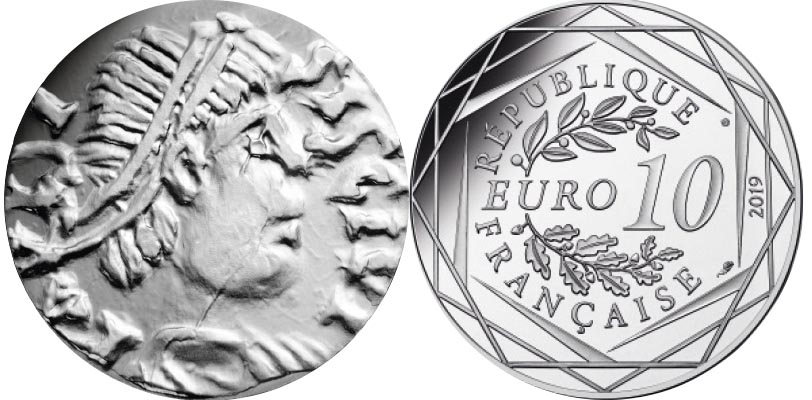 10 euros Argent - Dagobert