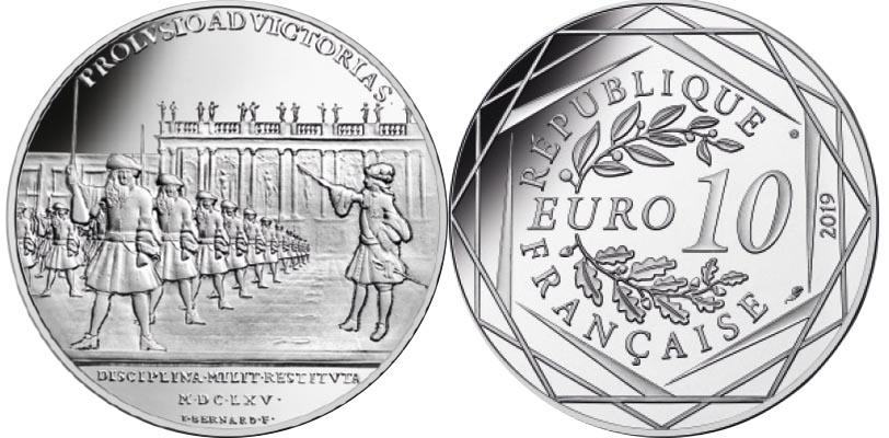 10 euros Argent - D'Artagnan