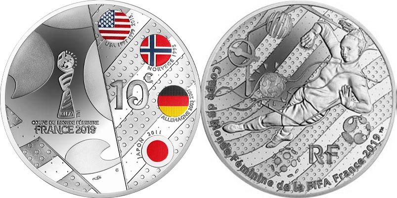 10 € Argent BE - version Europe