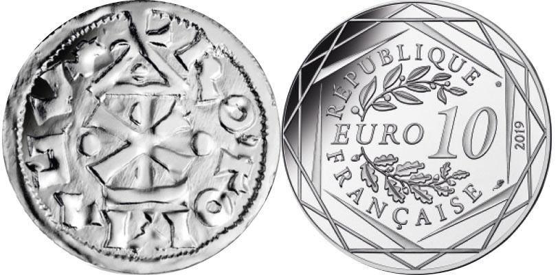 10 euros Argent - Guillaume
