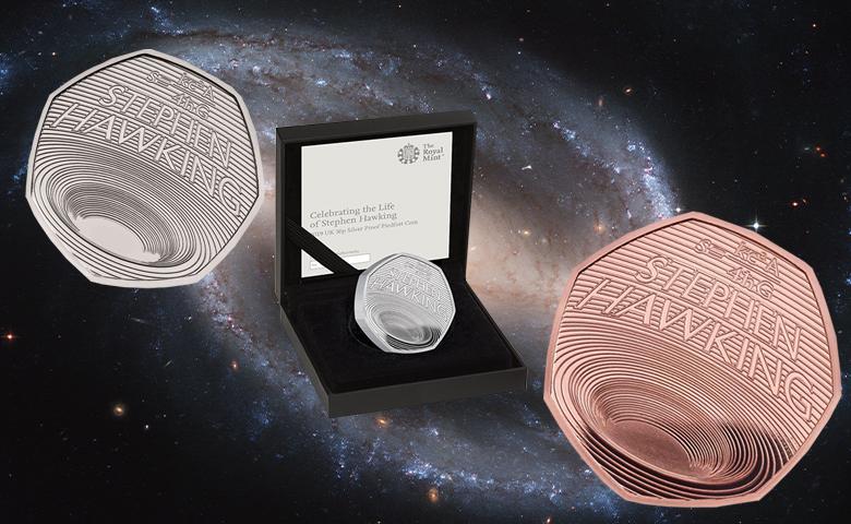 Le Royal Mint commémore Stephen Hawking