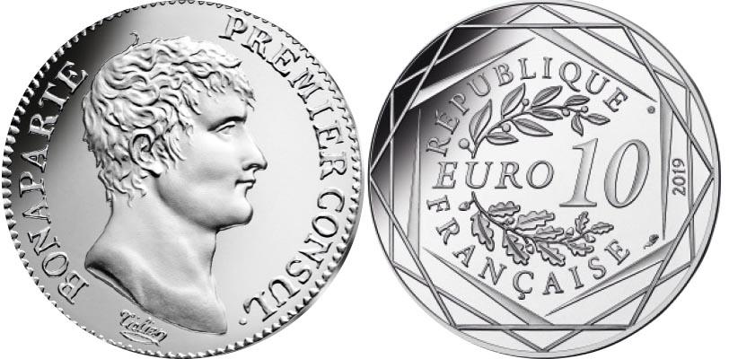 10 euros Argent - Napoléon