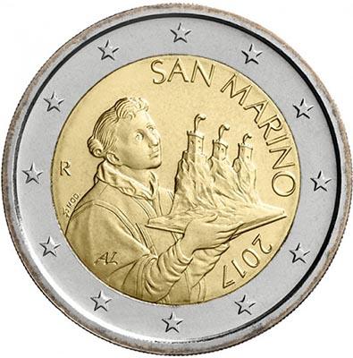 2 euros Saint-Marin 2017