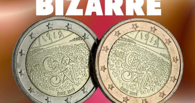 2 euro Irlande 2019