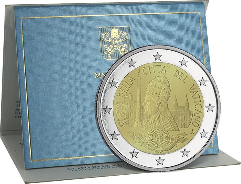 2 euro Vatican 2019 90ème anniversaire de la fondation de l'État de la Cité du Vatican
