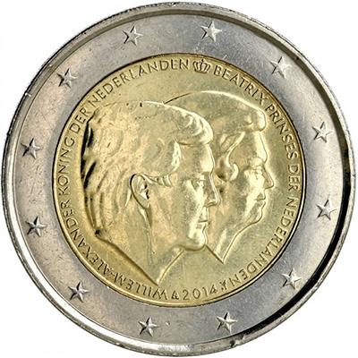 2 euros Pays-Bas 2014