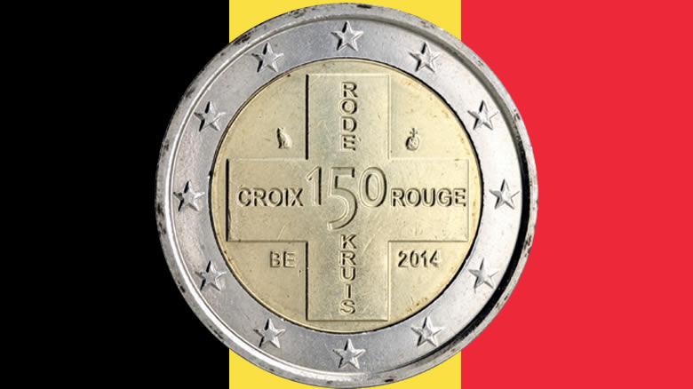 Le saviez-vous? 2€ commémo Belgique 2014