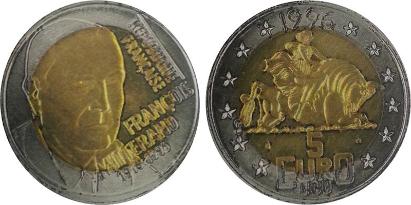 Fausse monnaie Mitterrand