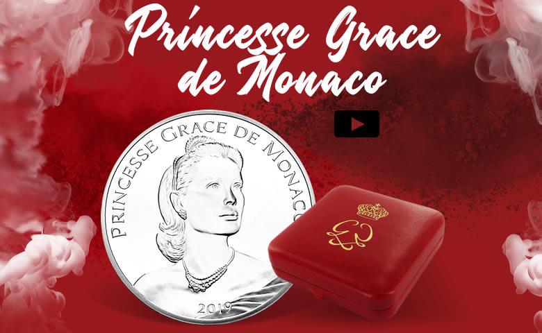 Une 10 euros pour les 90 ans de Grace de Monaco (vidéo)