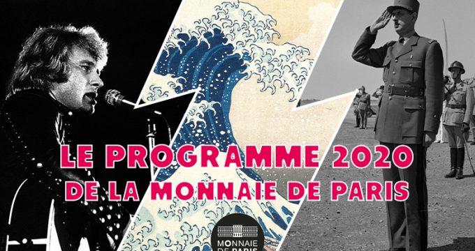 Programme 2020 de la Monnaie de Paris