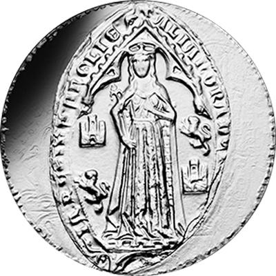 Vague 2 - 10 euros argent Aliénor d'Aquitaine