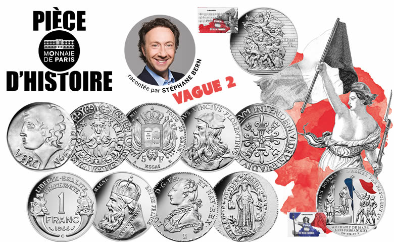 Vague 2 - Pièce d'Histoire racontée par Stéphane Bern