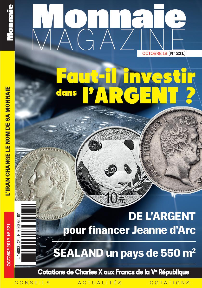 Monnaie Magazine Octobre 2019