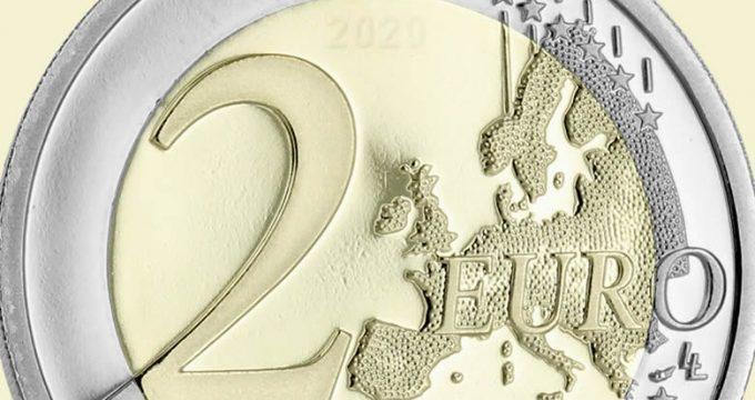 Pièces de 2 euros commémoratives 2020