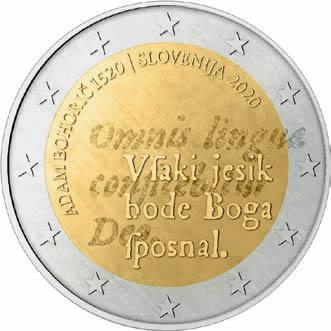 500e anniversaire de la naissance d'Adam Bohorič