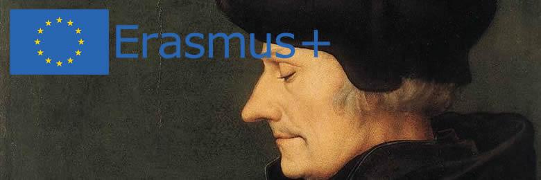 Une pièce de monnaie  Erasmus
