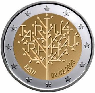2 euro Estonie 2020