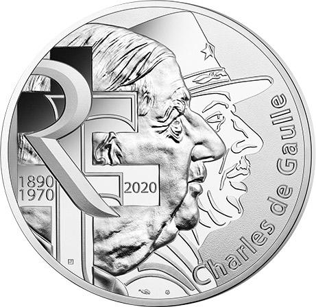 de Gaulle Monnaie de Paris