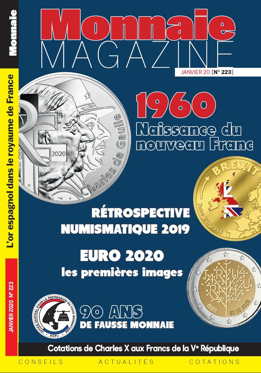 Monnaie Magazine Janvier 2020