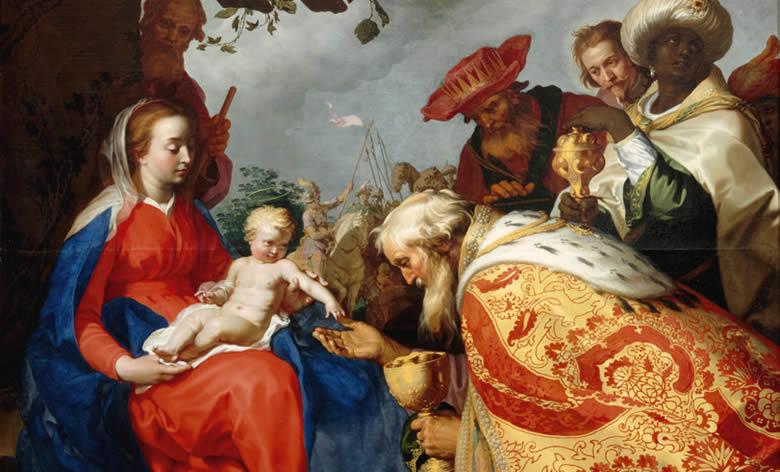 """L'adoration des Mages"" Abraham Bloemaert"