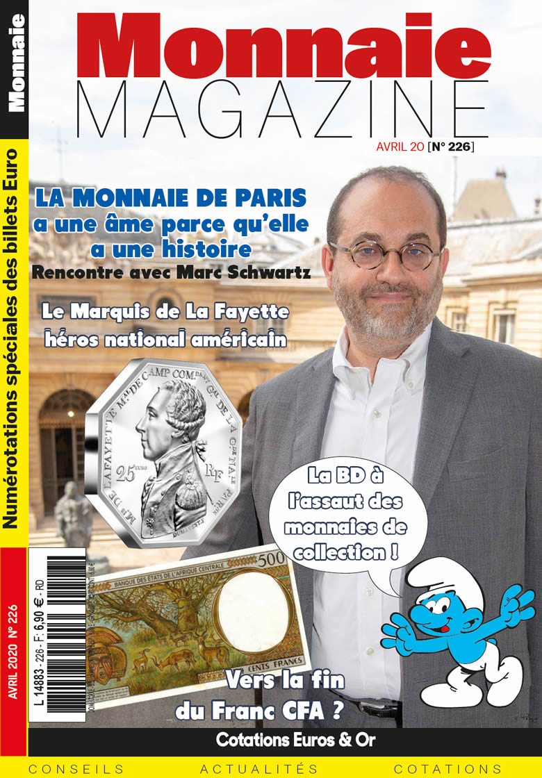 Monnaie Magazine Avril 2020