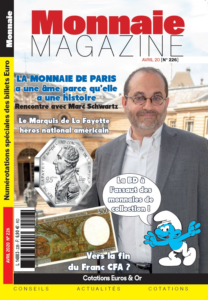 Monnaie Magazine Avril 2020