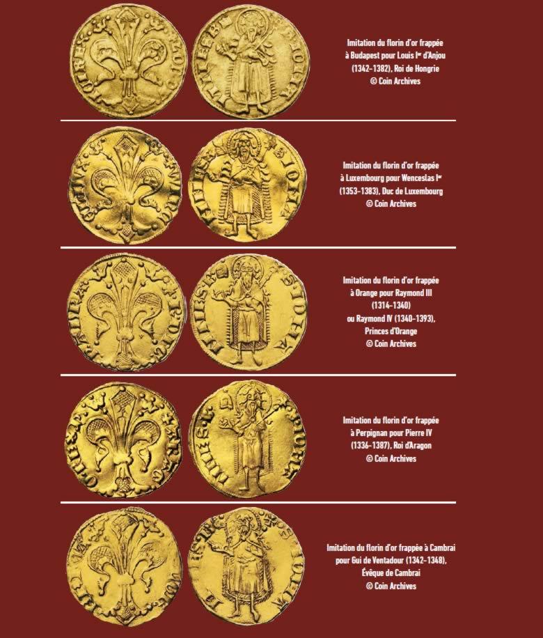 Monnaies Royales, le florin de Florence