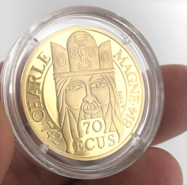 500 Francs - 70 écus Charlemagne