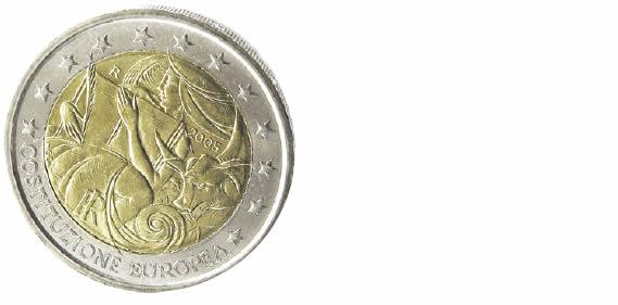 Quelle pièce de 2 euros commémorative célèbre un événement n'ayant pas eu lieu ?