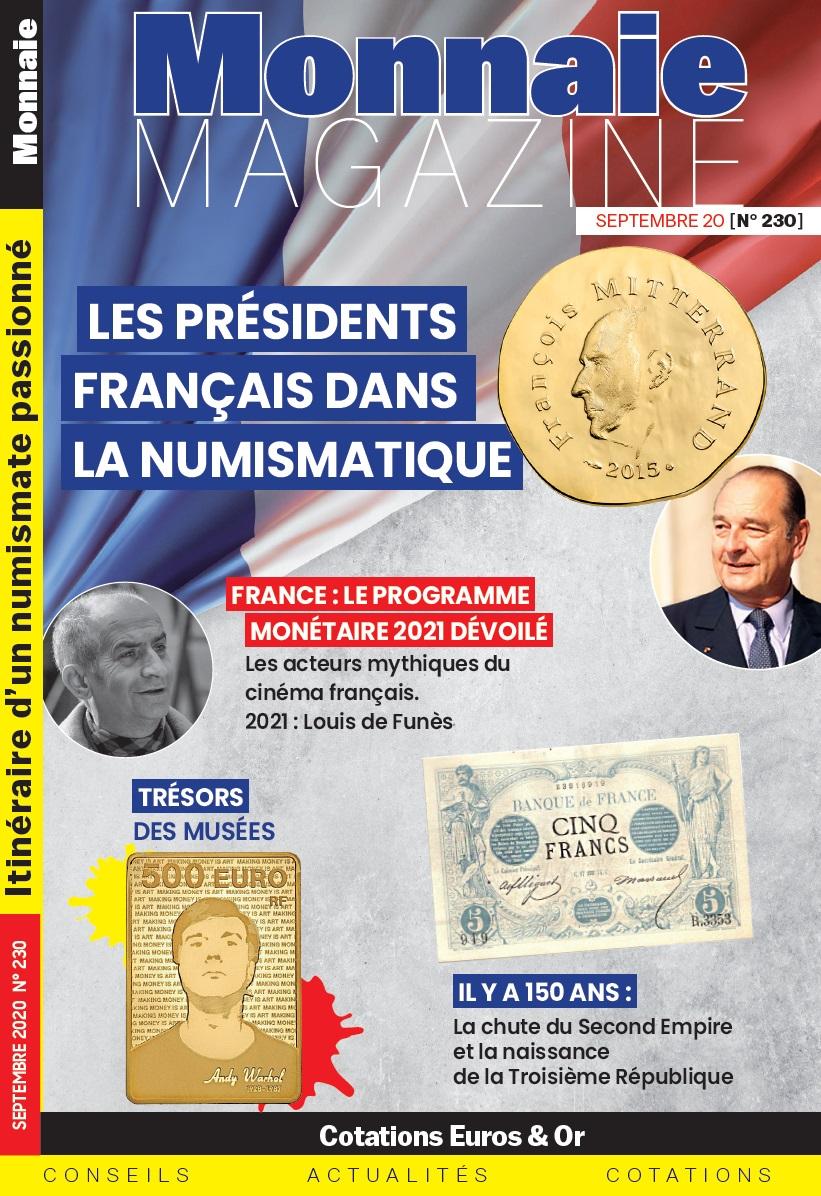 Monnaie Magazine Septembre 2020