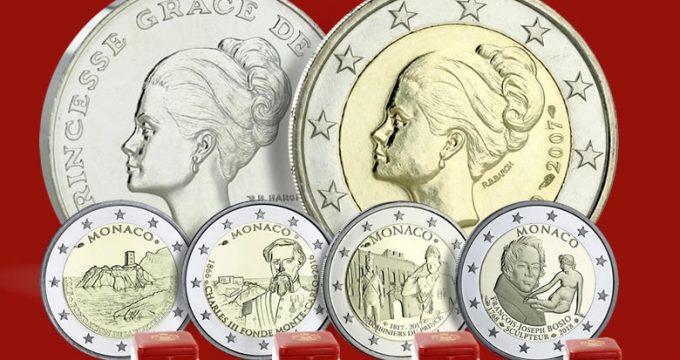 Pièce de 2€ Grace de Monaco 2007. Une pièce mythique