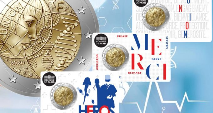 Recherche médicale 2 euros France 2020