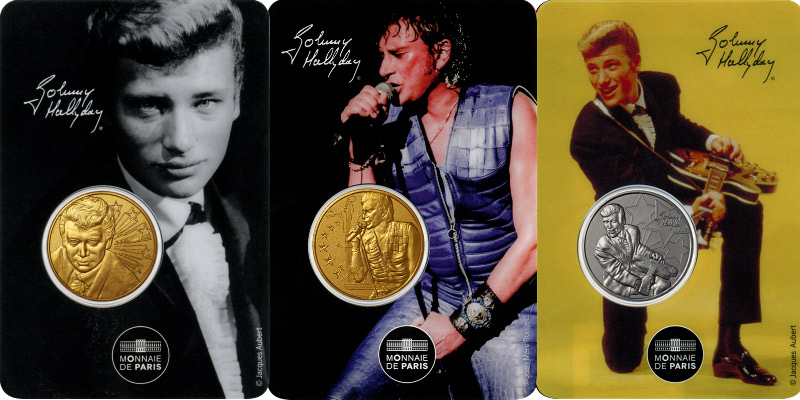 Blister Johnny Hallyday 1