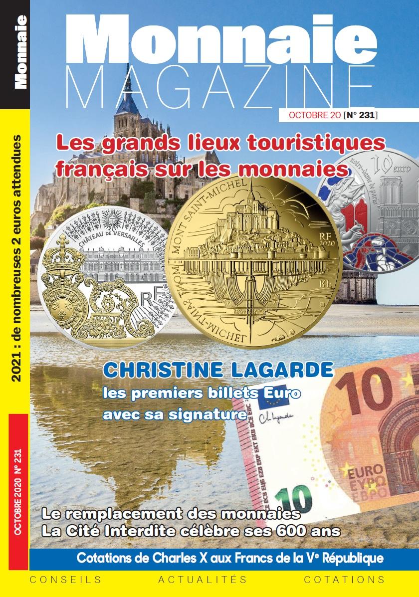 Monnaie Magazine Octobre 2020