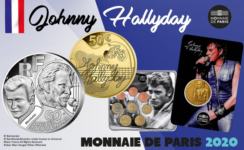 monnaie de paris 2020 Hallyday