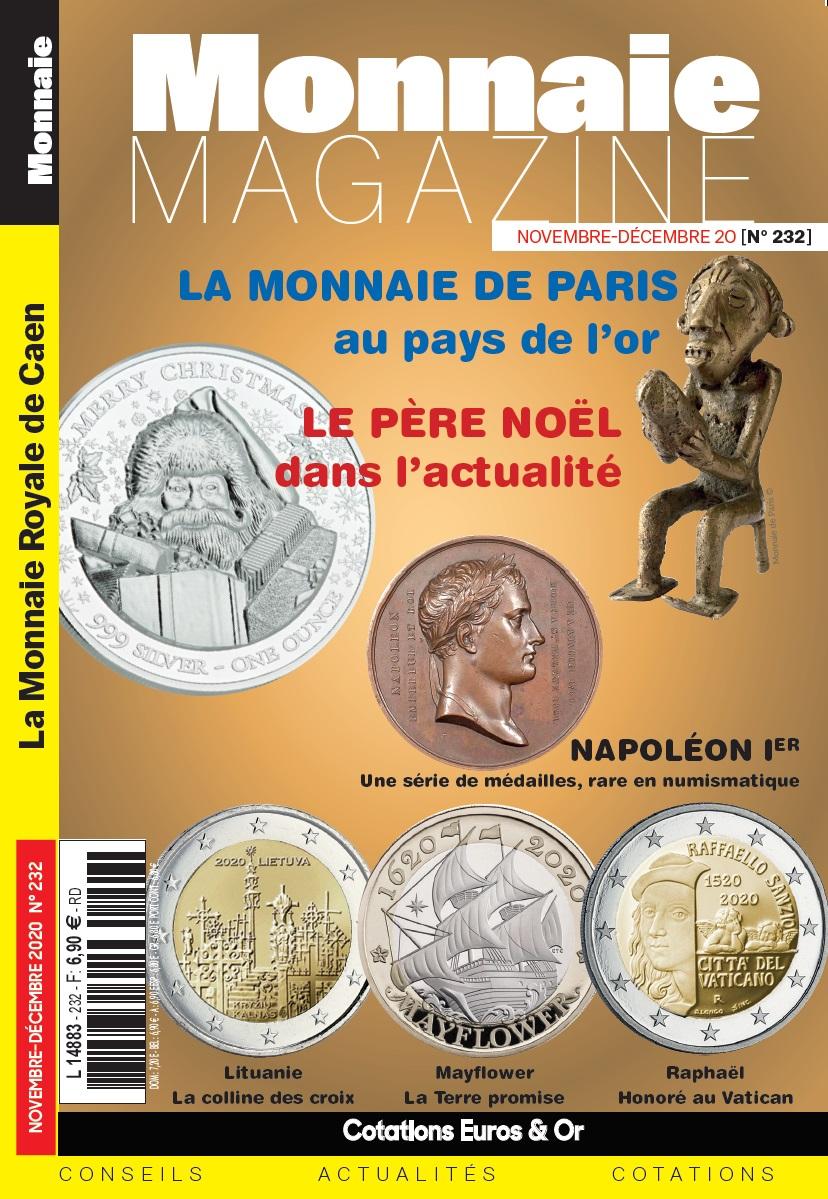 Monnaie Magazine Novembre Décembre 2020