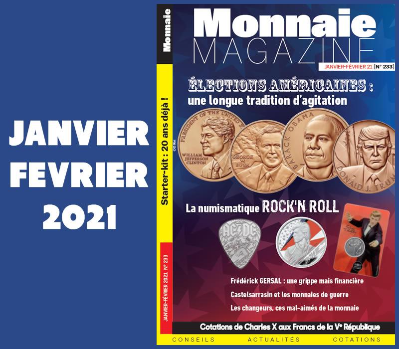 Monnaie Magazine janvier 2021