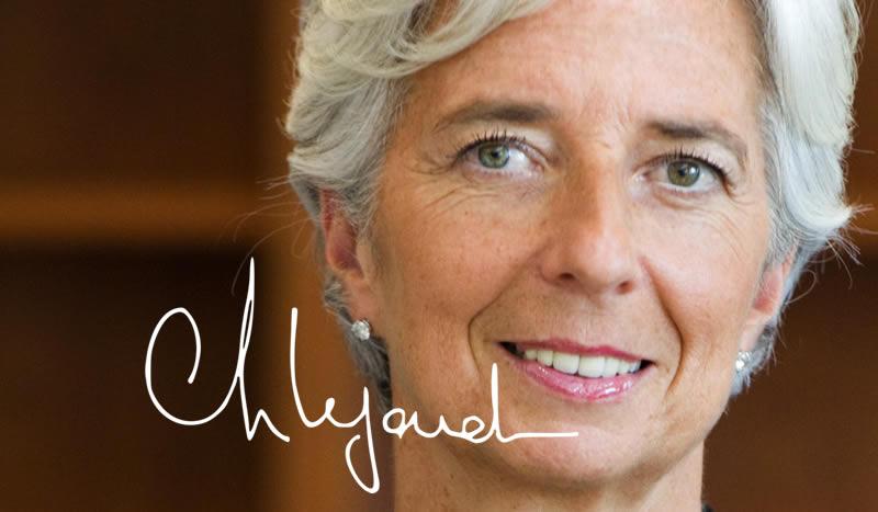 Madame Christine Lagarde