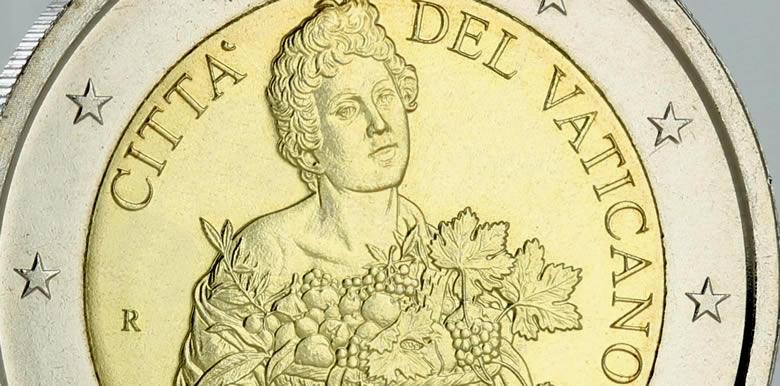 Pièce euro du Vatican